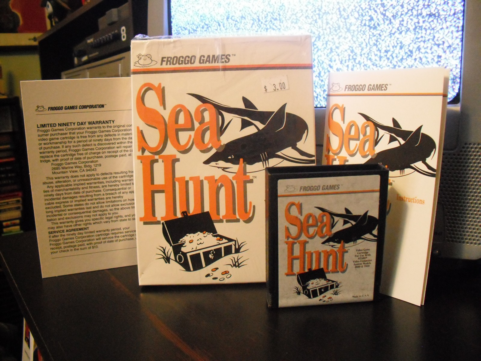 Sea Hunt (Froggo)(Boxed)