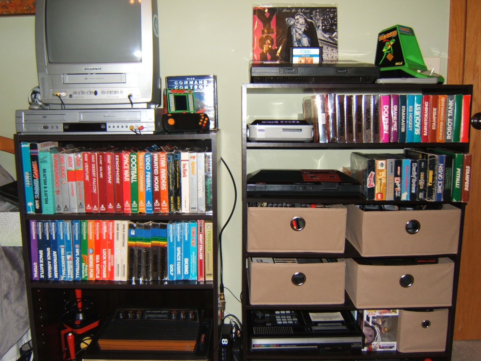My entire collection in one picture.