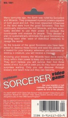 Sorcerer (Mythicon) Box Back