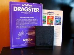 Dragster (Activision) (Back)