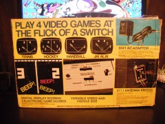Coleco Telstar Alpha (Box)(Back)