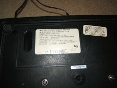 Sears Tele-Games Heavy Sixer [Serial Number]
