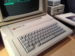 European Platinum Apple IIe