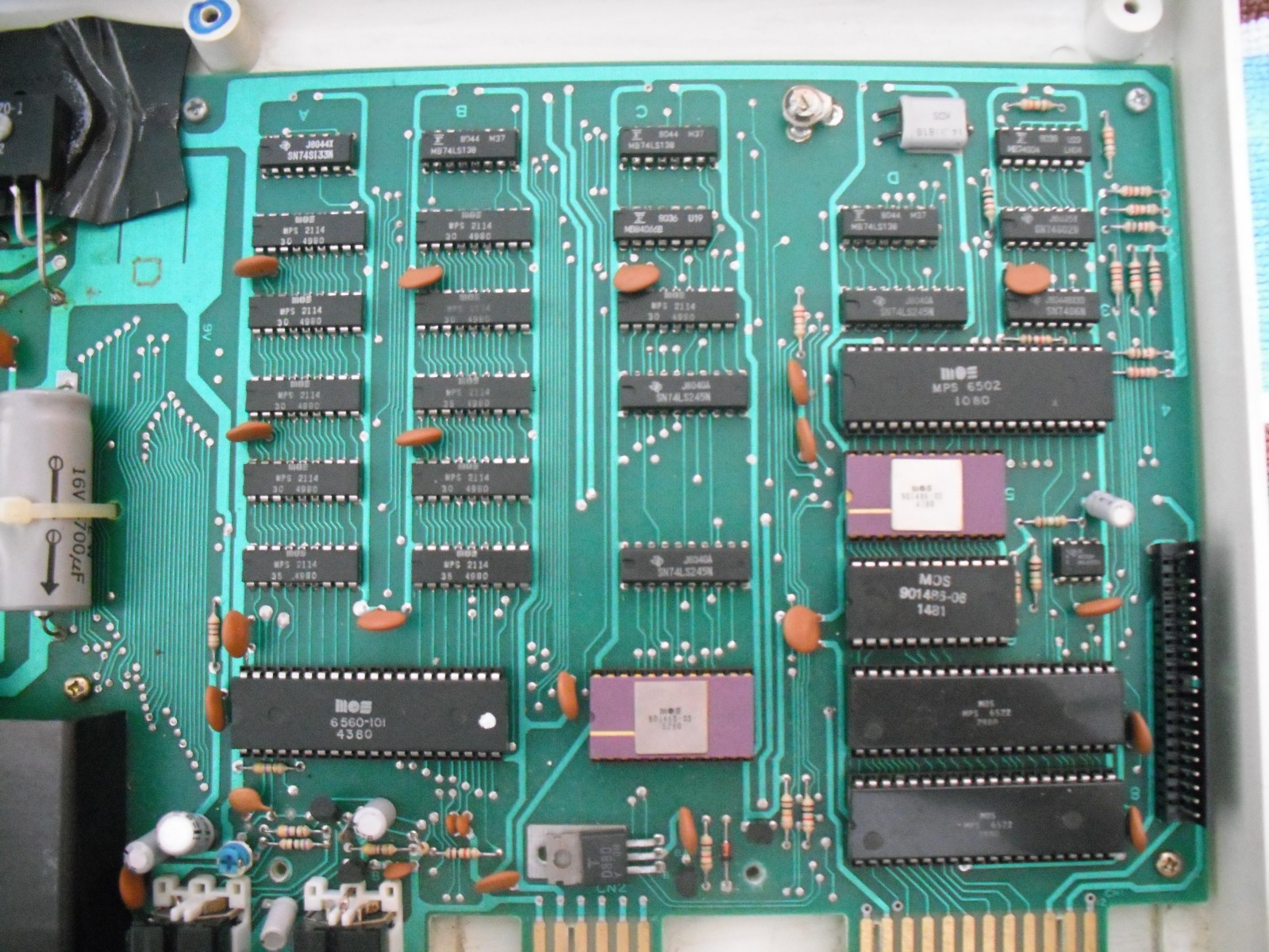 VIC-20 Chip Layout