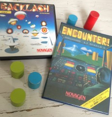 Encounter (Atari 8-bit) and Backlash (Atari ST)