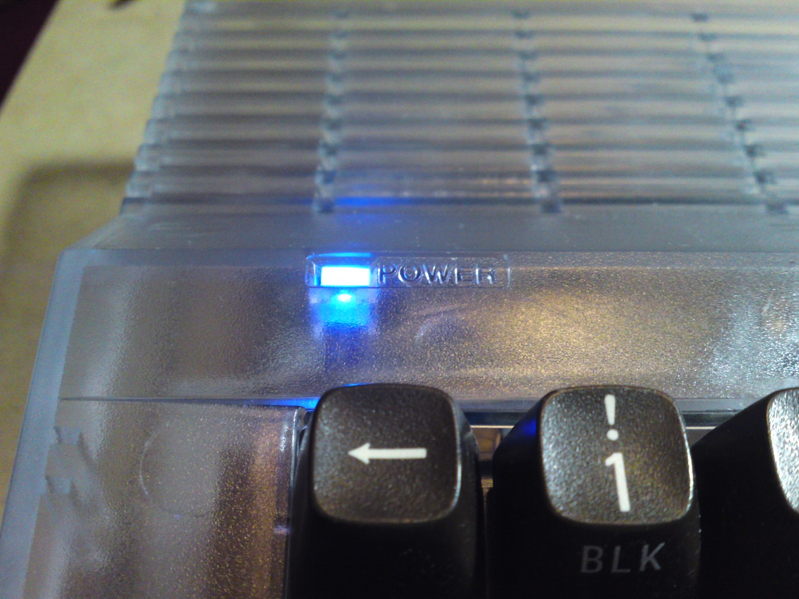 Blue power LED for 64C case with 64 or Reloaded MKII board
