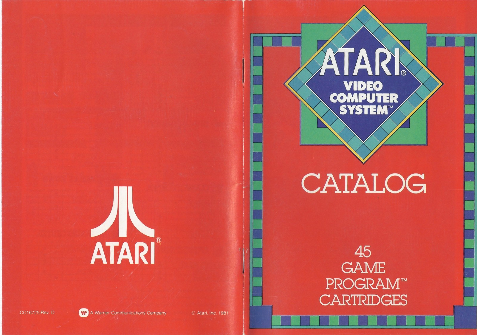 New Atari Catalog Variant