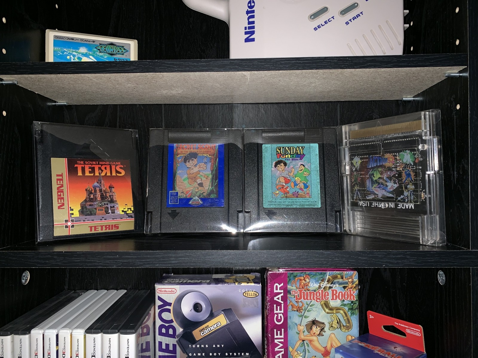 Some of my Unlicensed NES Games
