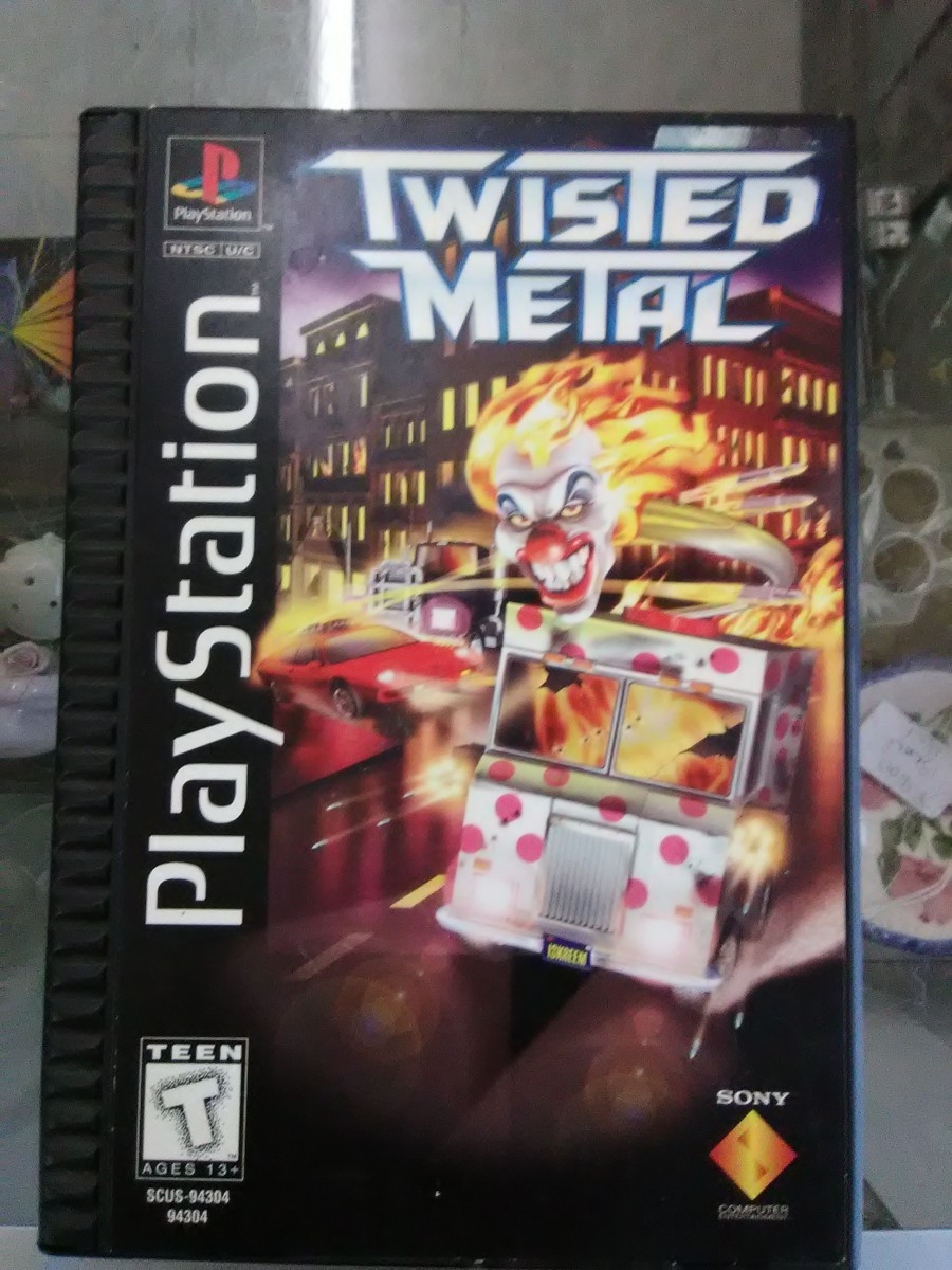 Twisted Metal, Long Box Edition (Sony Playstation, 1995.)