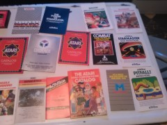 Atari 2600 Manuals/Catalogs