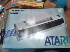Boxed Atari 1027 Letter Quality printer