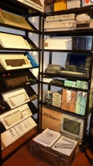 Commodore and Atari portables section