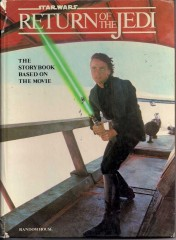 STARWARS RETURN OF THE JEDI STORY BOOK 1983 front