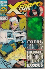 X FORCE 25 HOLOGRAM ISSUE front