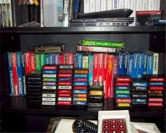 My Intellivision game collection