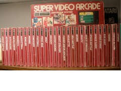 Almost complete Sears Super Video Arcade collection