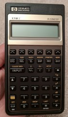 HP Calculator (17B II, 1987)_1