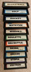 Intellivision Inc double labeled carts
