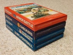 Mattel Intellivision Early Boxes (spines)