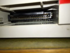 Cartridge slot of an Intellivision II