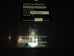 Serial Number of my Peritel Intellivision