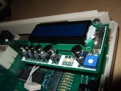 LCD Mounted