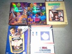 More DVD sets.