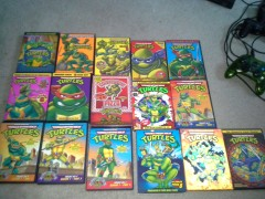 Original TMNT cartoon complete set