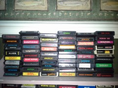 Atari 2600 collection