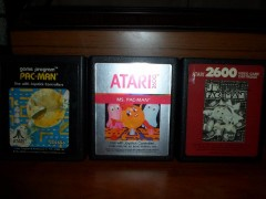 All Atari 2600 Pac-Man carts