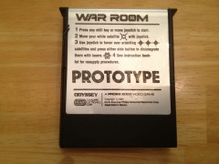 WAR ROOM PROTOTYPE COLECOVISION PROBE 2000 PROTOTYPE FRONT