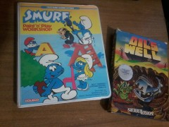 Smurf Paint'n'Play and Oil's Well