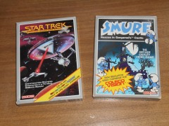 Star Trek and Smurf Rescue for Colecovision