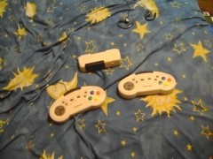 Super Nintendo wireless controller