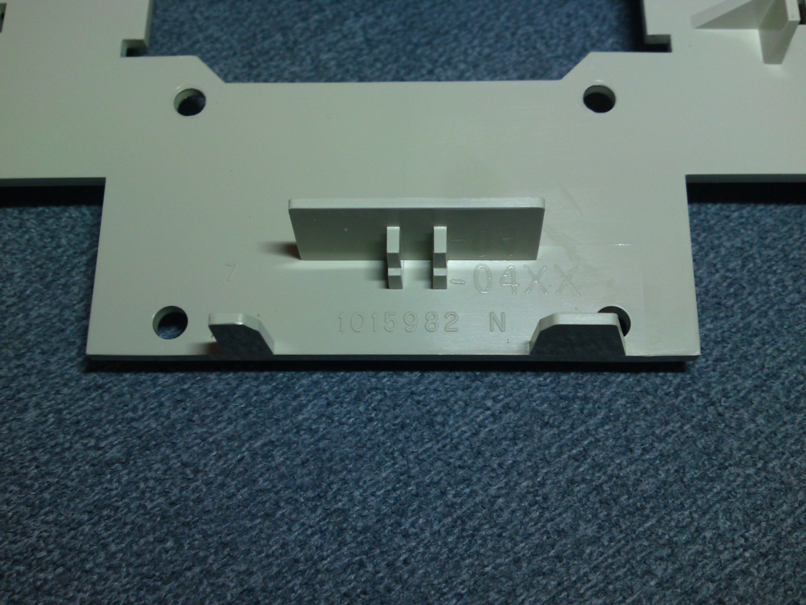 TI-99/4A GROM port under-side with part number