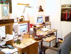 "First ""real"" computer room ca. 1999~2000"