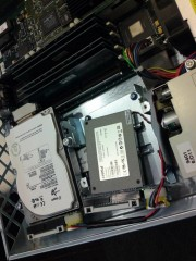 In the process of copying the system drive