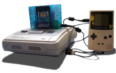 Super Game Boy 2 cable link