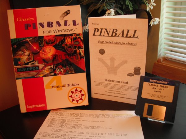 Pinball for Windows (Imppressions Software)