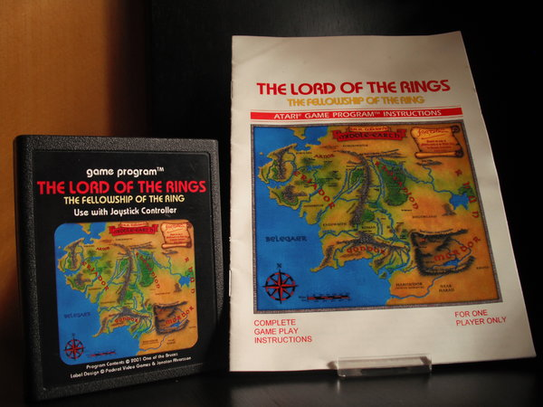 Lord of the Rings Fellowship of the Ring (Packrat)