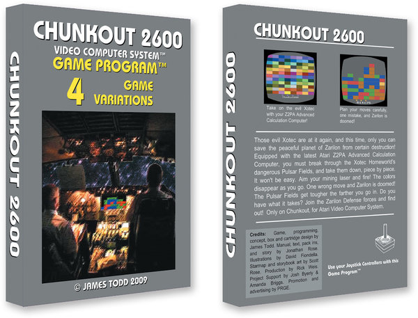Chunkout 2600 Unlimited Edition - James Todd
