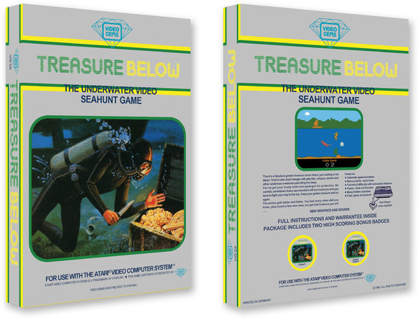 Treasure Below - Video Gems