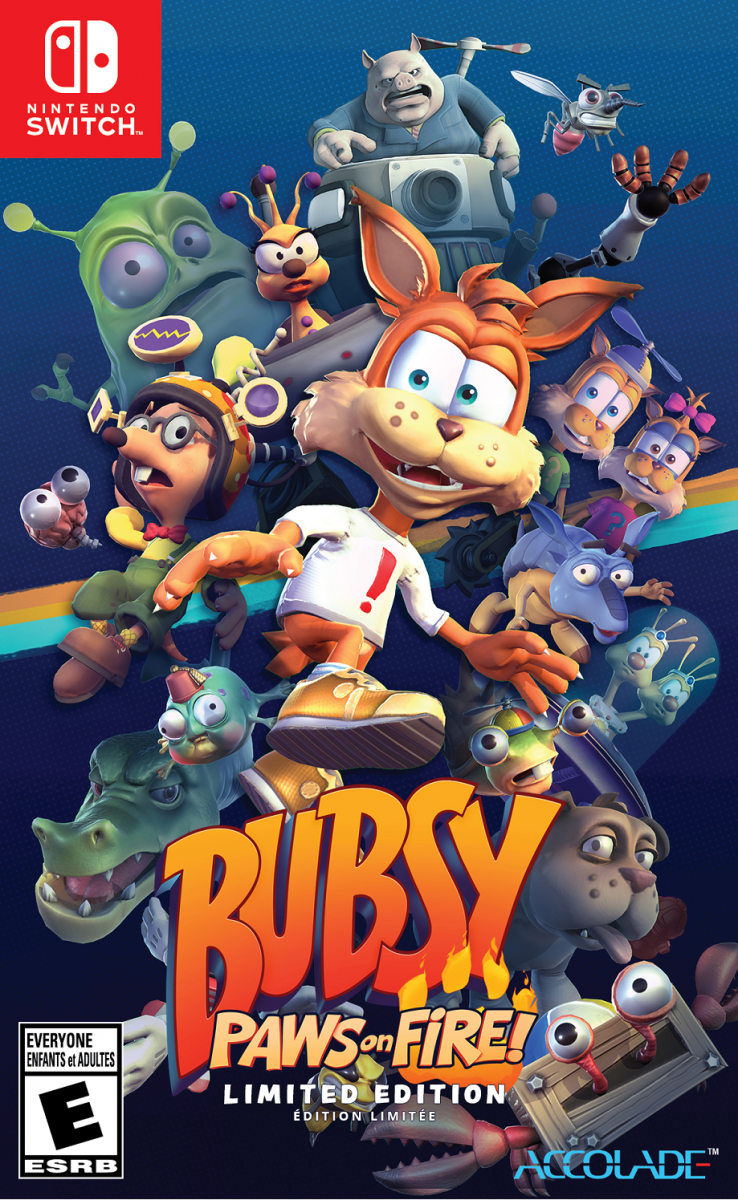 Bubsy Paws on Fire! Limited edition (1) (Nintendo Switch)