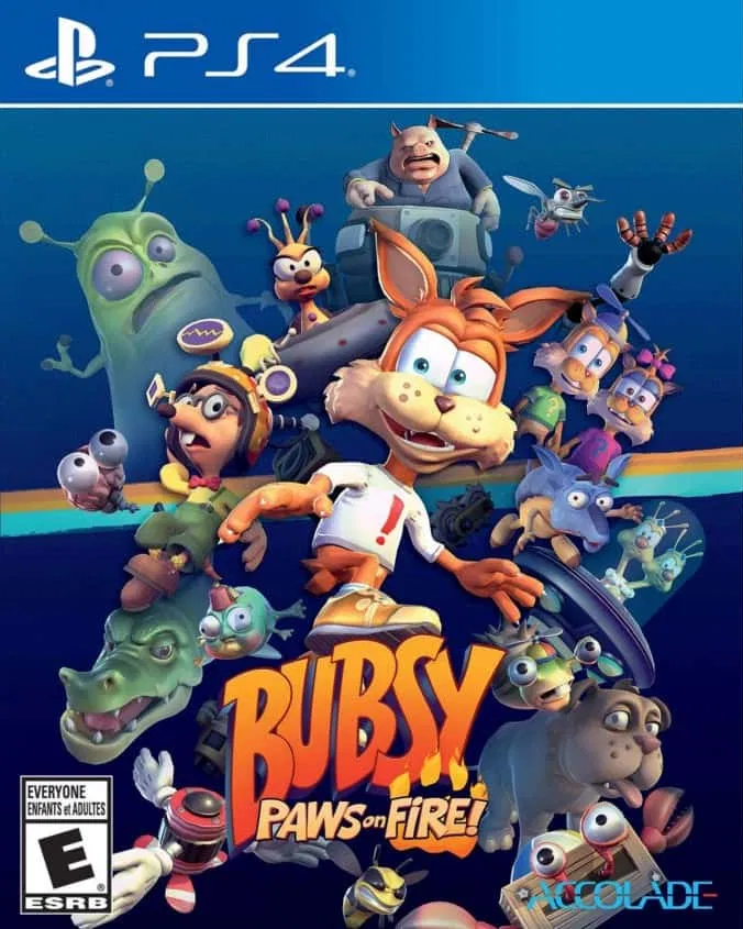 Bubsy Paws on Fire! (PS4)