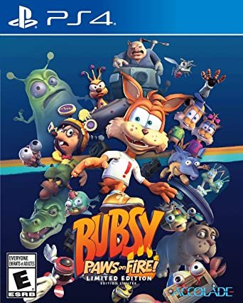 Bubsy Paws on Fire! Limited edition (PS4)