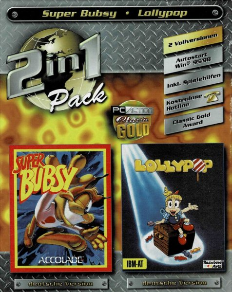 2 in 1 pack, Super Bubsy & Lollypop (PC, Germany)