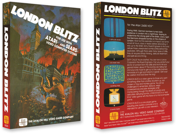London Blitz/Avalon Hill