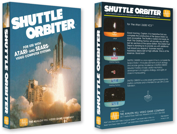 Shuttle Orbiter/Avalon Hill