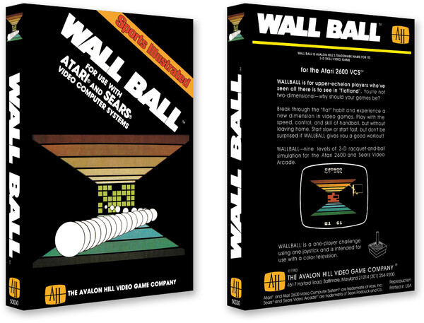 Wall Ball/Avalon Hill