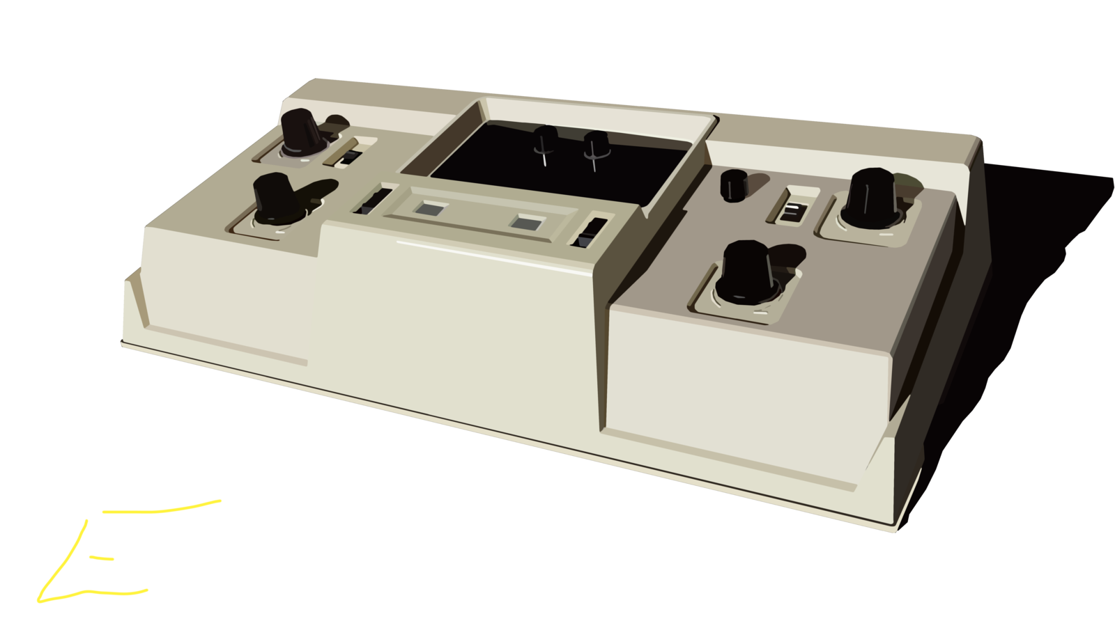 The Gameroom Tele-Pong By Entex